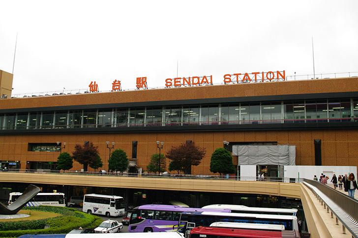 仙台駅の商用利用可能なフリー写真素材