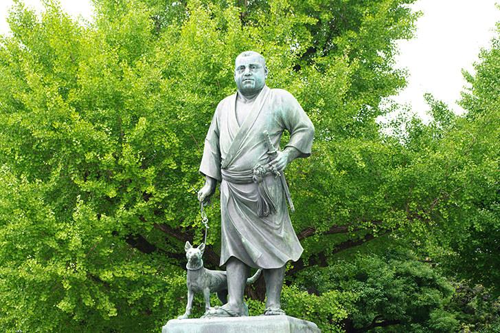 西郷隆盛像のフリー写真素材 「西郷隆盛像」のフリー素材ダウンロード  西郷隆盛像の商用可フリー写