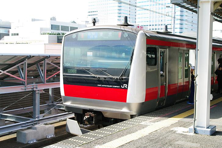 京葉線の商用利用可能なフリー写真素材