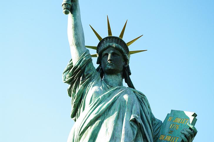 自由の女神(お台場)の商用利用可能なフリー写真素材