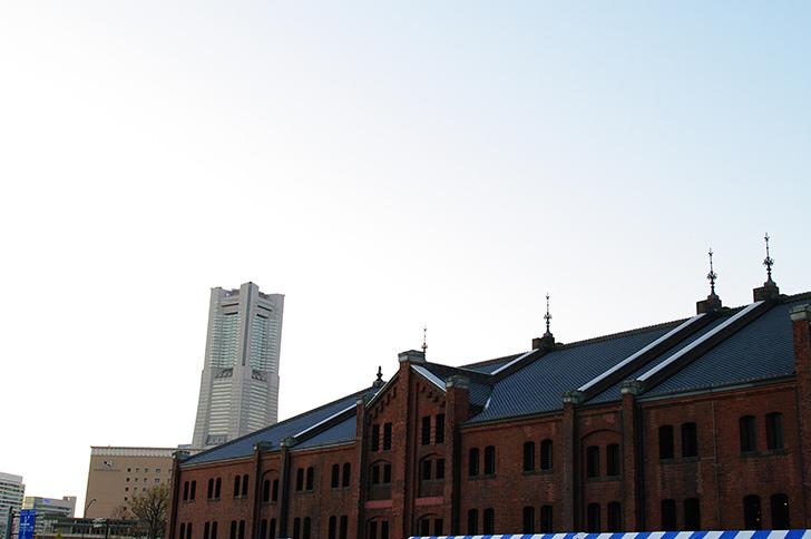 横浜赤レンガ倉庫の商用利用可能なフリー写真素材