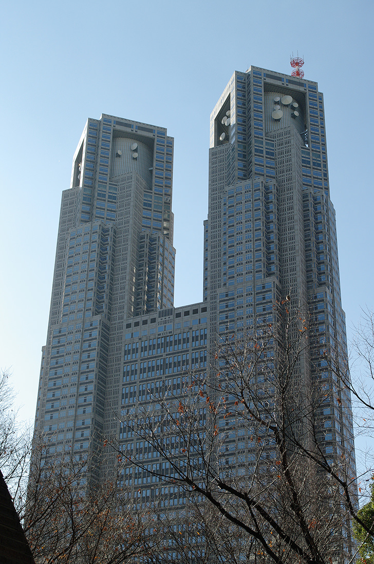東京都庁のフリー写真素材
