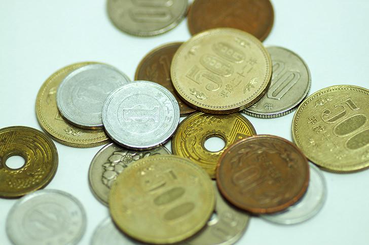 硬貨の商用利用可能なフリー写真素材