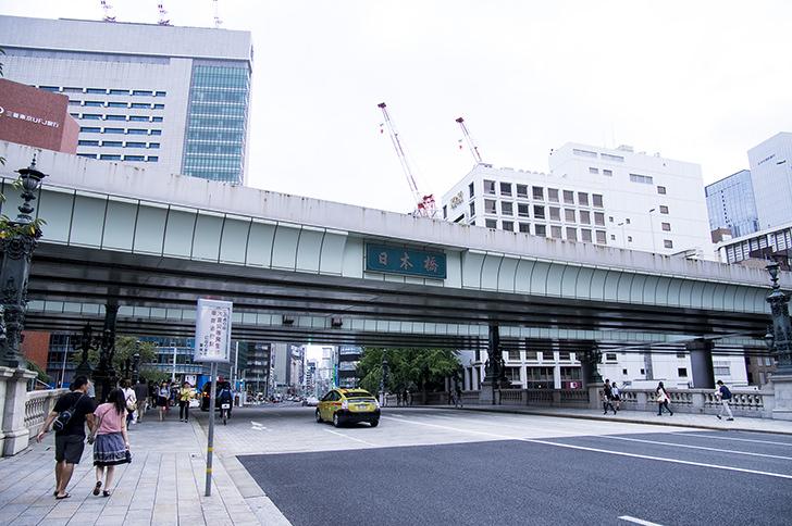 日本橋の商用利用可能なフリー写真素材
