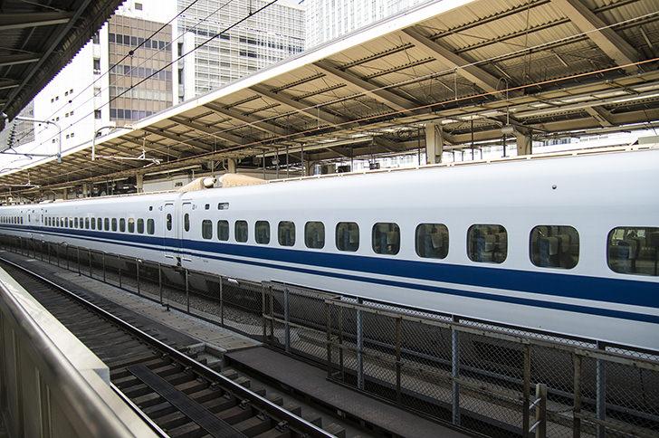 N700系新幹線「こだま」の商用利用可能なフリー写真素材