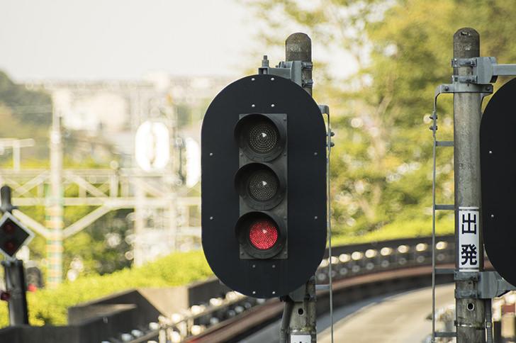 Railway signal Free Photo
