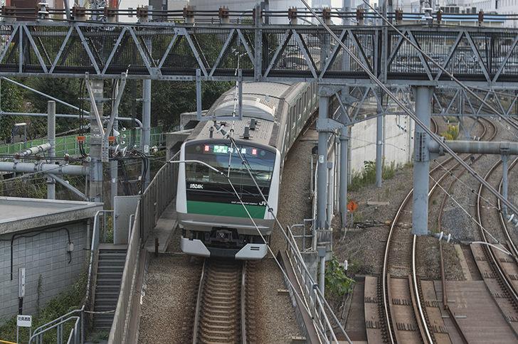 埼京線の商用利用可能なフリー写真素材