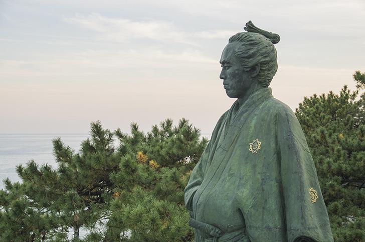 Statue of Sakamoto Ryoma Free Photo