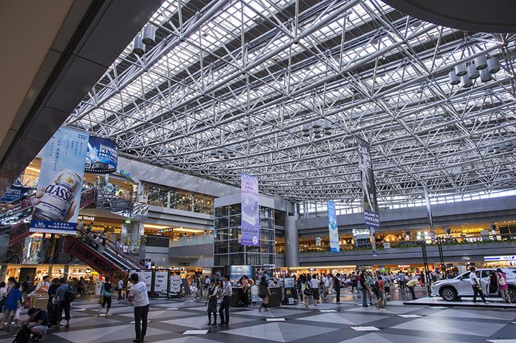 新千歳空港国内線ターミナルビルの商用利用可能なフリー写真素材