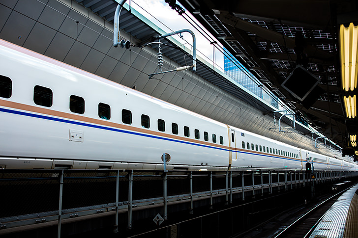 Hokuriku bullet train Free Photo