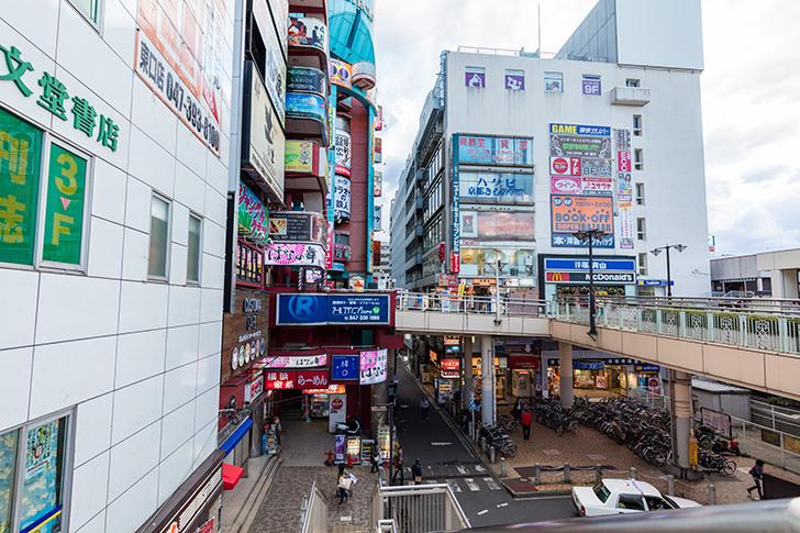 松戸駅前の商用利用可能なフリー写真素材