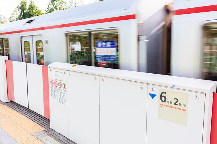 東京メトロ丸ノ内線の商用利用可能なフリー写真素材
