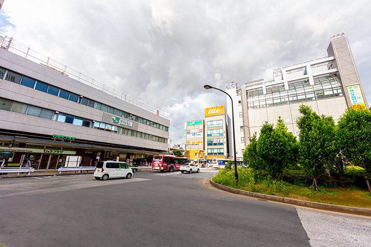 中野駅南口周辺の商用利用可能なフリー写真素材