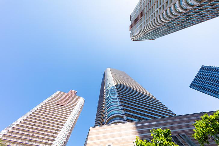 高層マンションの商用利用可能なフリー写真素材
