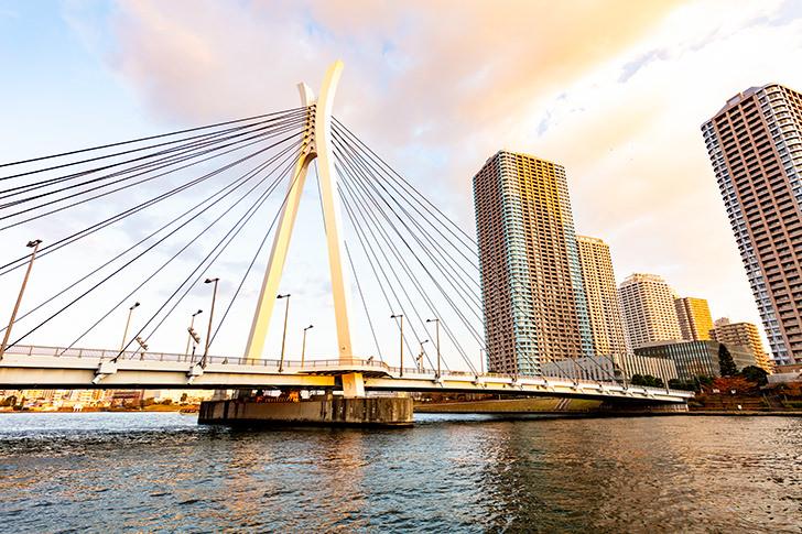 Chuo bridge Free Photo