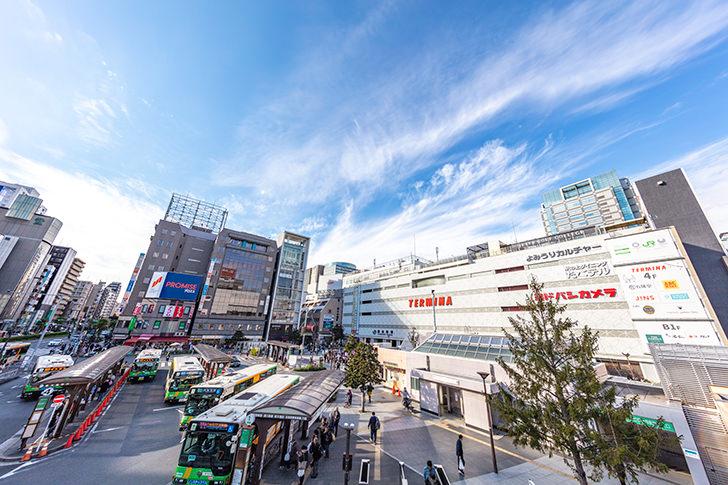 錦糸町駅前の商用利用可フリー写真素材6162 | フォトック