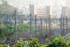 線路のフリー写真素材