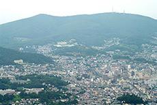 小樽市街のフリー写真素材