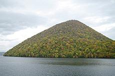 洞爺湖(中島)のフリー写真素材