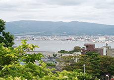 函館市街のフリー写真素材