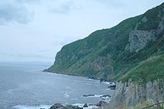 立待岬のフリー写真素材