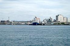緑の島(函館)のフリー写真素材