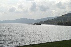 洞爺湖のフリー写真素材