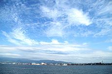 空のフリー写真素材