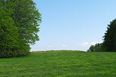 羊ヶ丘展望台のフリー写真素材