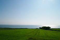 望来の海のフリー写真素材