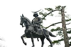Statue of Date Masamune