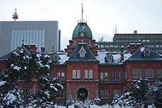 北海道庁旧本庁舎(赤れんが庁舎)のフリー写真素材