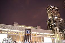 札幌駅のフリー写真素材