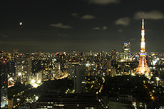 night view in Tokyo