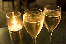 シャンパンのフリー写真素材