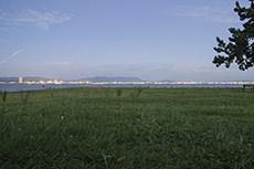 海の中道のフリー写真素材
