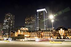 夜景のフリー写真素材