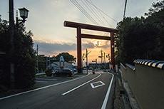 筑波山神社のフリー写真素材