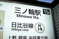 Minowa Station