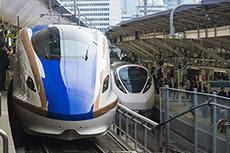 Hokuriku bullet train