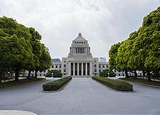 国会議事堂のフリー写真素材