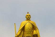 statue of Nobunaga Oda