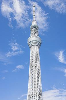 東京スカイツリーのフリー写真素材