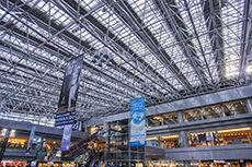 新千歳空港国内線ターミナルビルのフリー写真素材