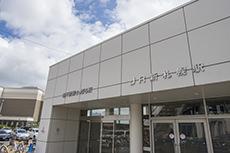 JR新札幌駅出入口のフリー写真素材
